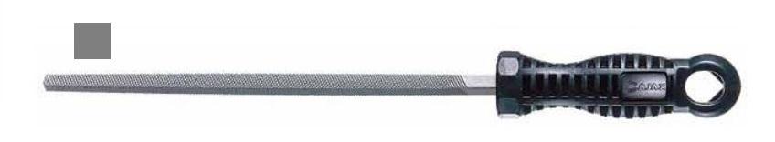 Pilník dílenský čtyřhranný 8x8 PZC200/1 - AJAX