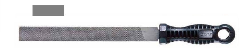 Pilník dílenský plochý 20x5 PSO200/1 - AJAX