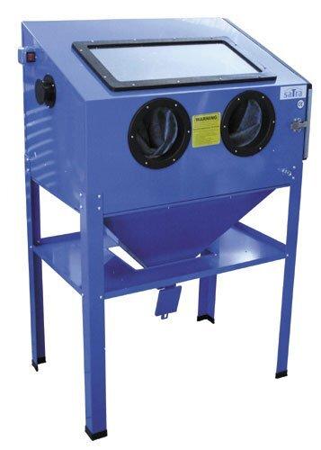 Pískovací box - kabinová pískovačka, objem 220 litrů, s příslušenstvím - SATRA