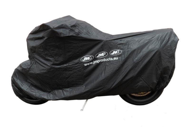 Krycí plachta na motorku XXL 264 x 104 x 130 cm Premium, venkovní nepromokavá, černá