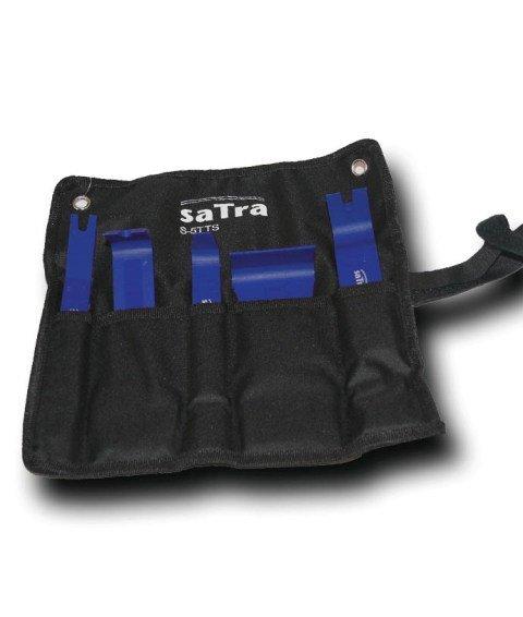 Plastové nástroje - klíny, páky a háky na montáž a demontáž čalounění, sada 5 ks - SATRA