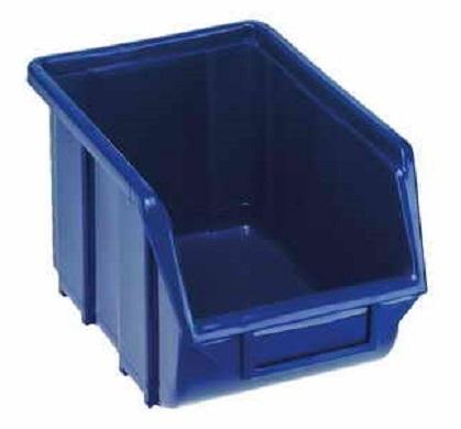 Plastový box 160 x 250 x 130 mm - modrý