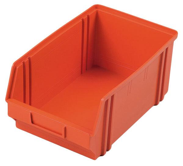 Plastový box 200 x 300 x 150 mm - oranžový