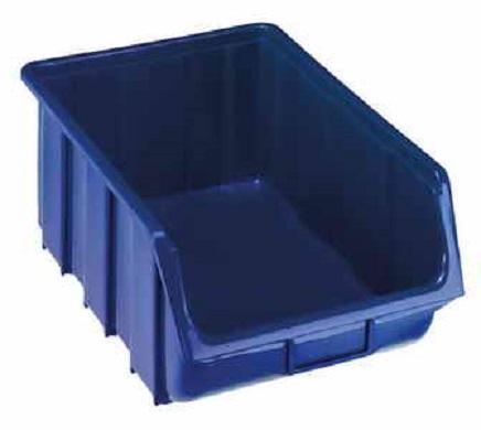 Plastový box 330 x 500 x 190 mm - modrý