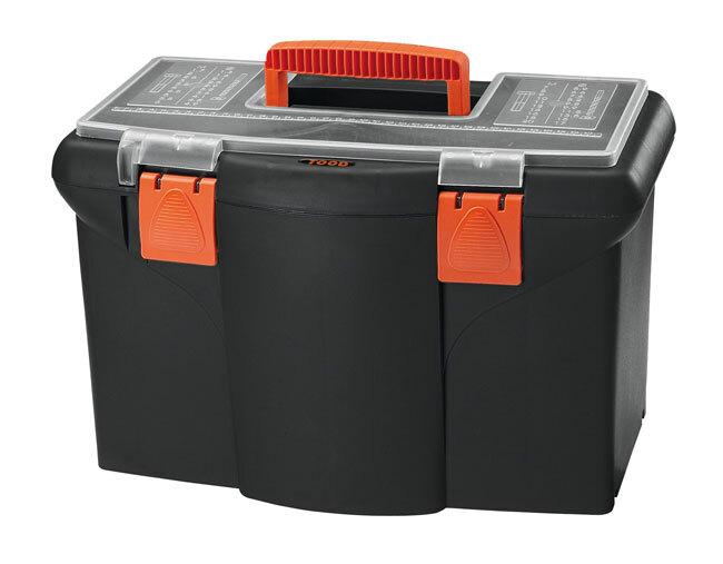 Kufr - basa na nářadí 450 x 260 x 290 mm, plast