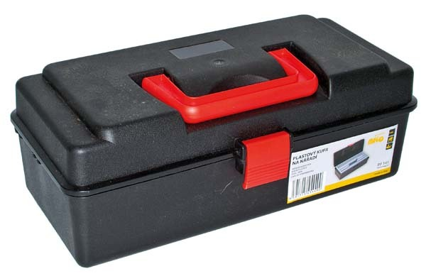 Plastový kufřík, 320 x160 x120 mm, 1 přihrádka