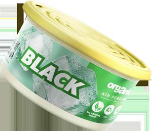 Vůně do auta Organic plechovka s víčkem Black 42 g