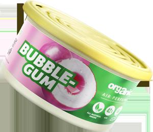 Vůně do auta Organic plechovka s víčkem Bubble Gum 42 g