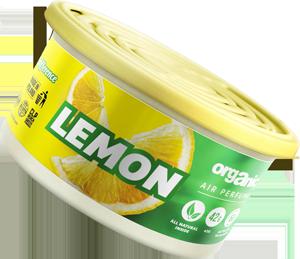 Vůně do auta Organic plechovka s víčkem Lemon 42 g