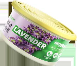 Vůně do auta Organic plechovka s víčkem Lavender 42 g