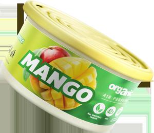 Vůně do auta Organic plechovka s víčkem Mango 42 g