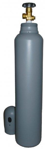 Plynová tlaková láhev DUSÍK N2, 8 litrů, 150 Bar  plná 1,6 m3, závit W24,23, s víčkem