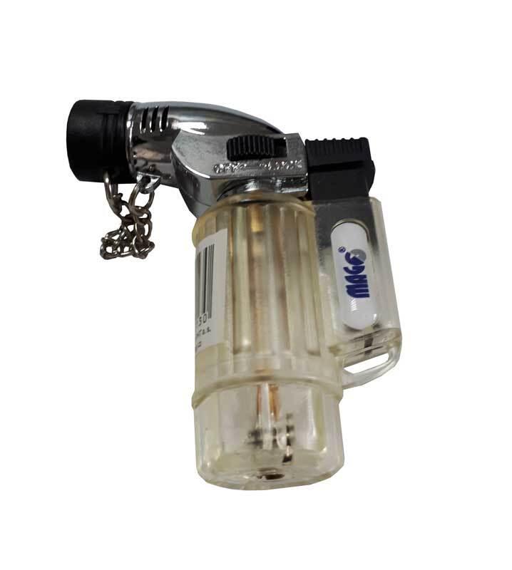 Plynový hořák mini, plnicí, s aretací