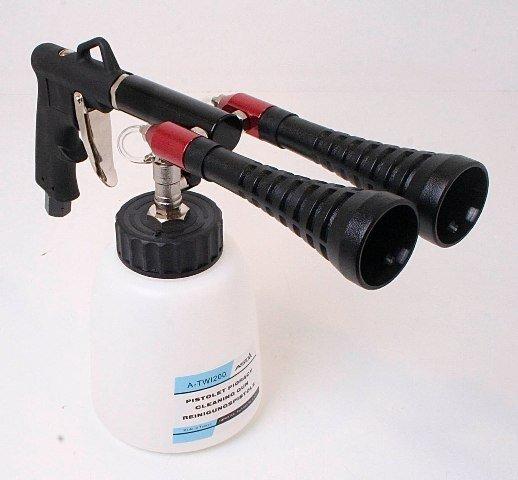 Pneumatická čisticí pistole Twister, 2 trysky - ASTA