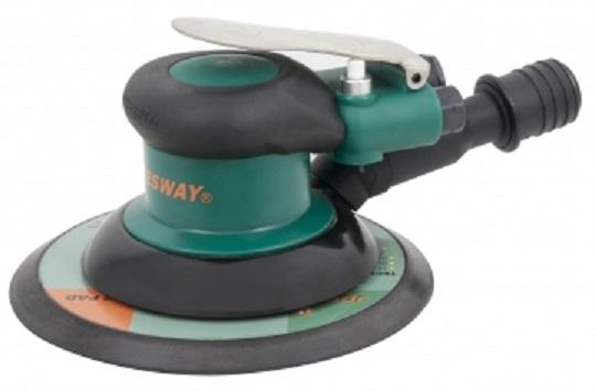 Pneumatická excentrická bruska a leštička, automatické odsávání - JONNESWAY JAS-1020-6HE