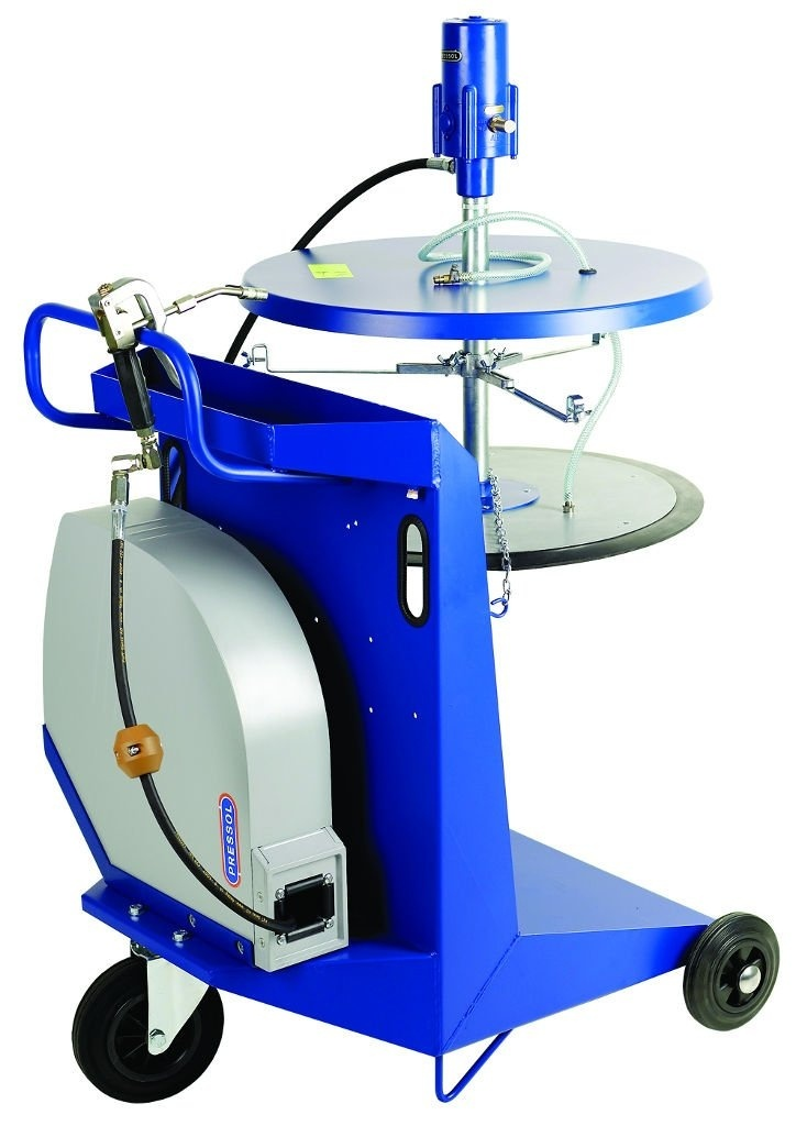 Pneumatická maznice - mazací přístroj, pojízdný, PRESSOL 18 788 051
