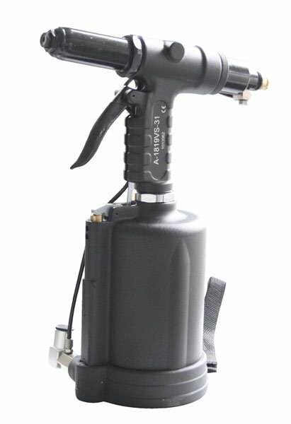 Pneumatická nýtovačka na trhací nýty 4.8 - 6.4 mm, i pro ocel a nerez - ASTA