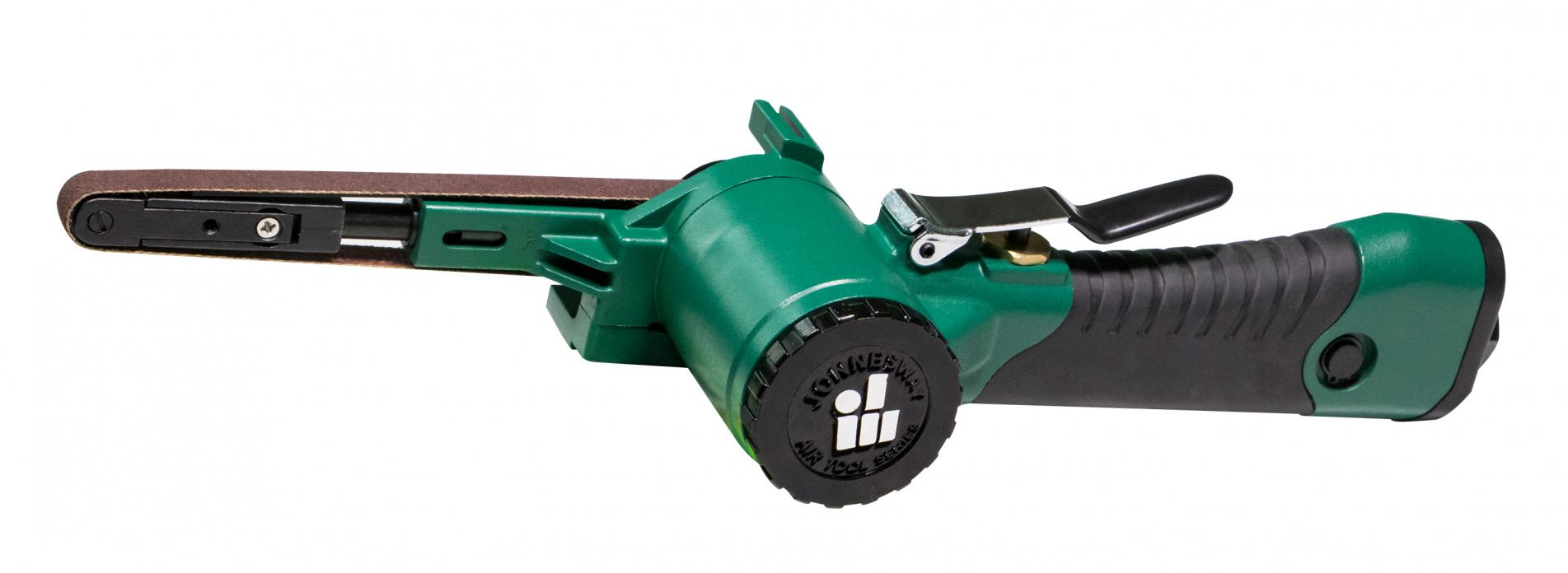 Pneumatická pásová bruska, úzký pás 10x330 mm - JONNESWAY JAS-0451