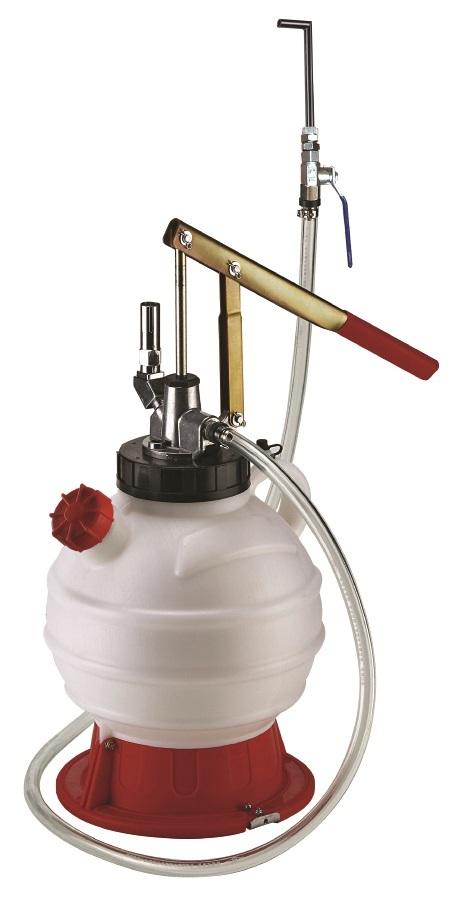 Pneumatická plnička oleje ATF do automatických převodovek, s adaptéry - JONNESWAY AE300176