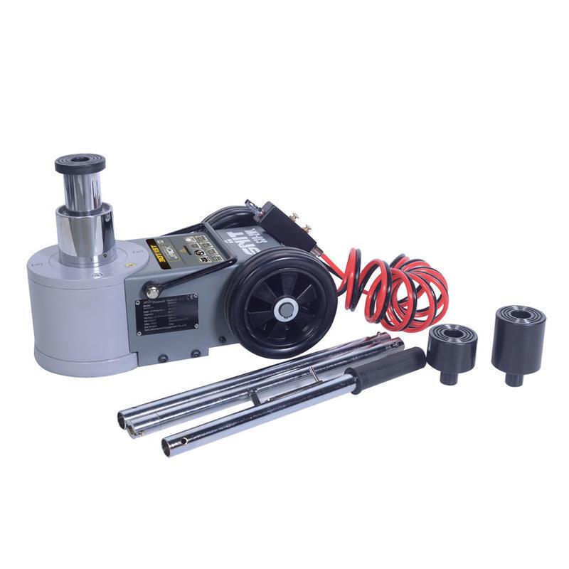 Zvedák pneumaticko-hydraulický S30-2ML, 30/15t, pojízdný, dvoupístový se skládací rukojetí