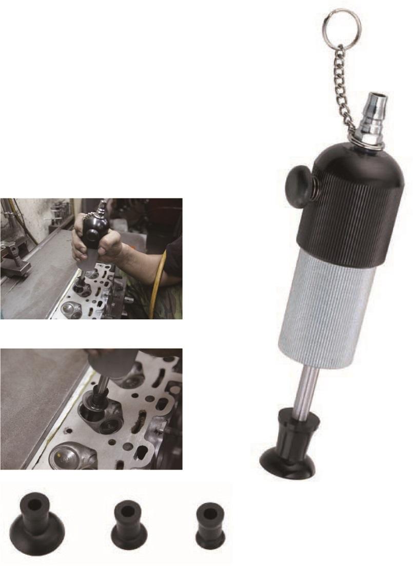 Pneumatický přípravek na zabrušování, lapování ventilů 16 - 35 mm - JONNESWAY JAT-1041