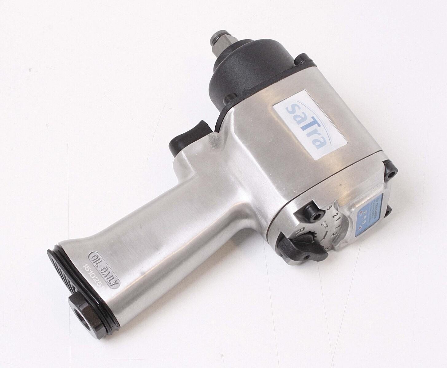 """Pneumatický rázový utahovák, kompaktní, 1/2"""", 750 Nm - SATRA"""