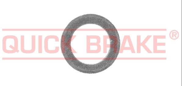 Podložka, těsnění pod matici, vnitřní průměr 10 mm, měděná, pro brzdový systém