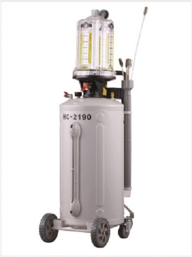Pojízdná odsávačka, pneumatická nádoba na vyjetý olej, objem 76 litrů - HC-2190