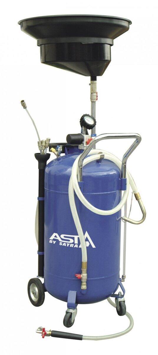 Olejová jímka - odsávačka, pojízdná, 90 l - ASTA