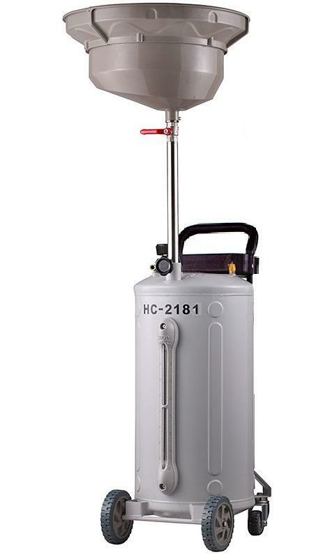Pojízdná olejová jímka, objem 76 litrů - HC-2181