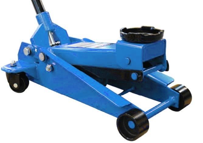 Pojízdný hydraulický zvedák 3t, 130-465 mm,T830025 - QUATROS QS19131