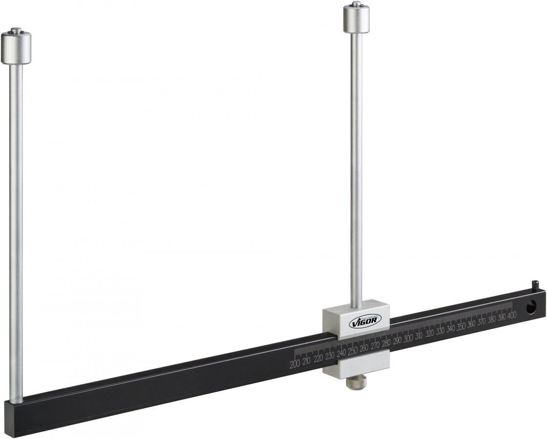 Posuvné měřidlo na brzdové kotouče, rozsah 200 - 400 mm - VIGOR V4930