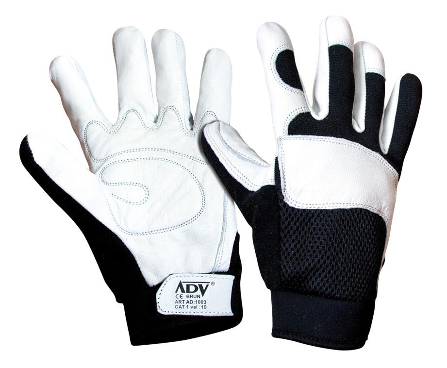Pracovní rukavice BRUN, velikost 10