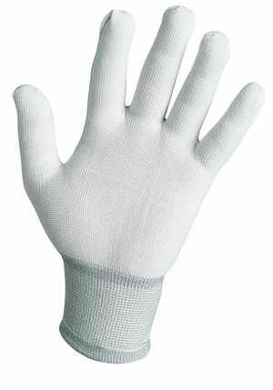 Pracovní rukavice nylonové, pletené, velikost M-8