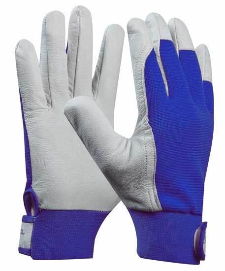 Pracovní rukavice, kozinková useň, UNI FIT COMFORT velikost 10