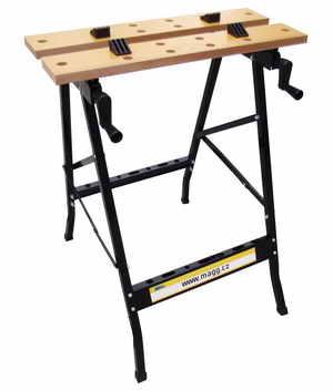 Pracovní stůl skládací, nastavitelná hloubka 200 - 300 mm, šířka 560 mm