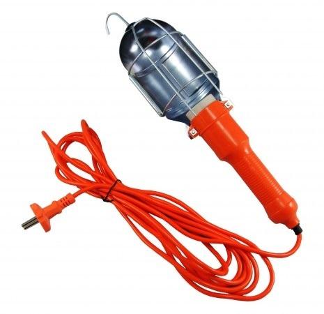 Přenosná dílenská lampa s kabelem 230V 60W