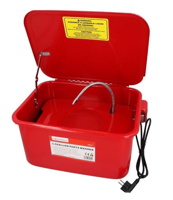 Přenosná mycí vana, objem 13 litrů, pro čištění dílů