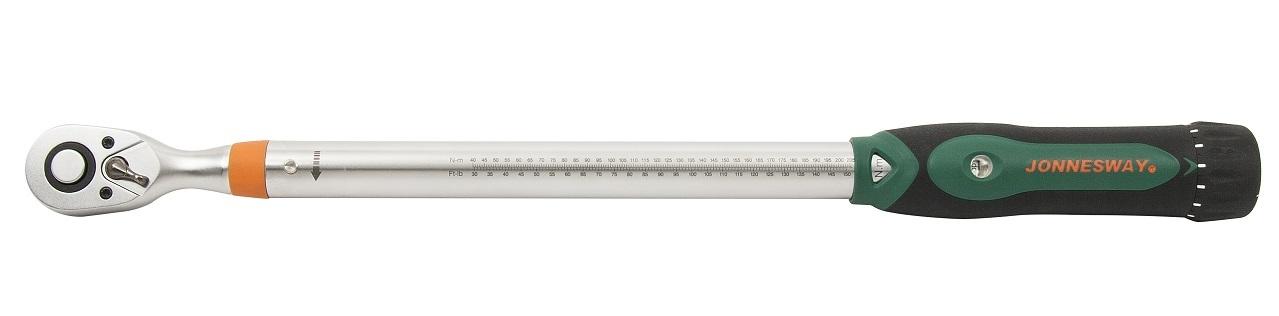 """Momentový klíč 1/2"""" 60-340 Nm, přesný s certifikátem - JONNESWAY T21340N"""