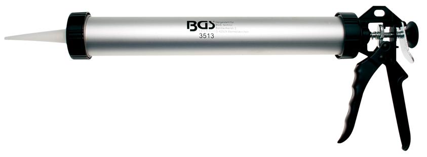 Prespistole hliníková, délka 380 mm, objem 600 ml - BGS 3513