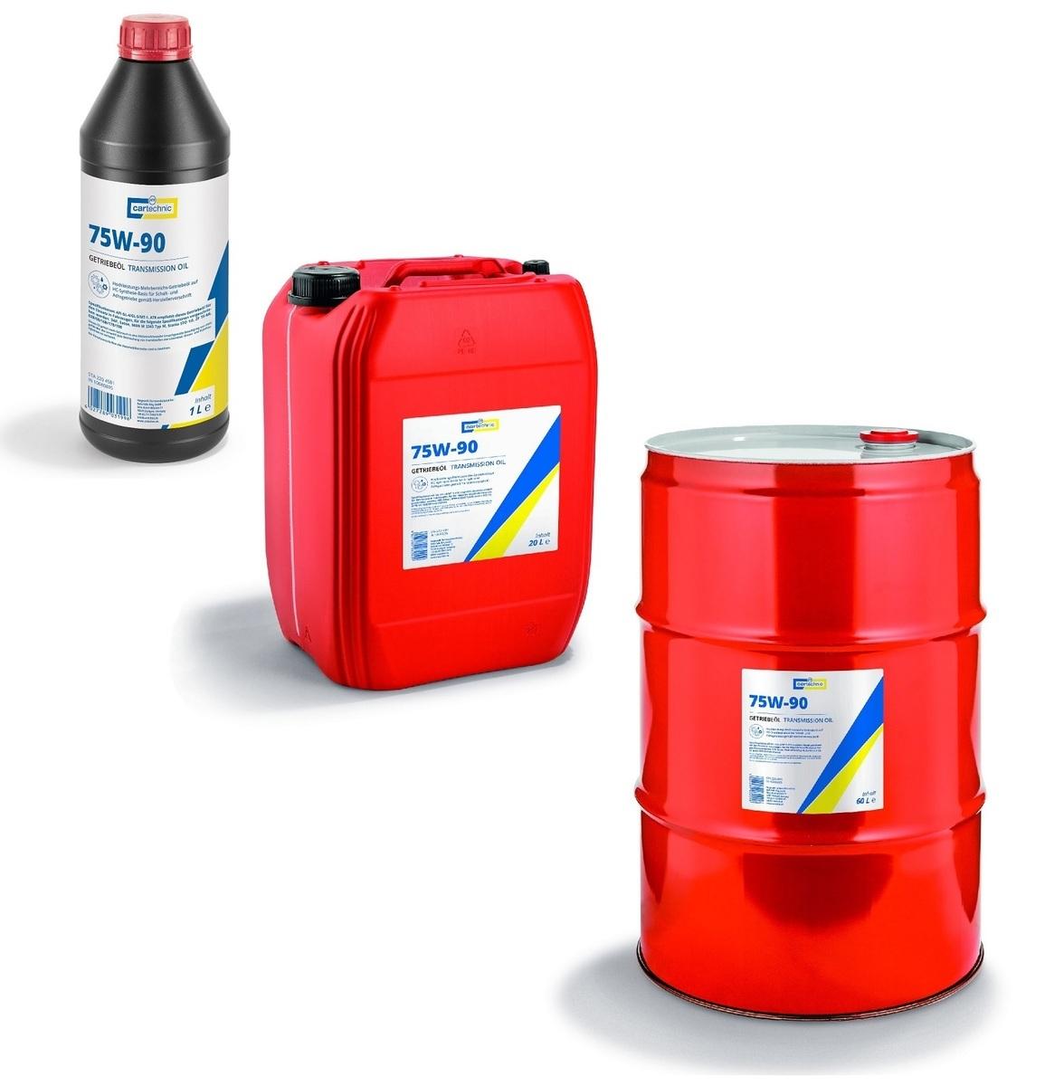 Převodový olej 75W-90 pro velmi namáhané převodovky, různé objemy - Cartechnic