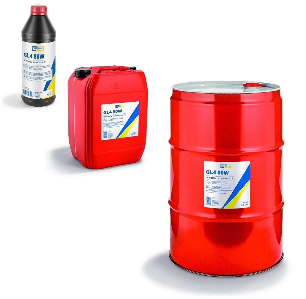 Převodový olej GL4 80W-90, pro manuální převodovky, různé objemy - Cartechnic