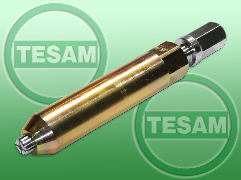 Přípravek - klíč na demontáž elektrody žhavicí svíčky, od průměru 4 mm - TESAM TS979