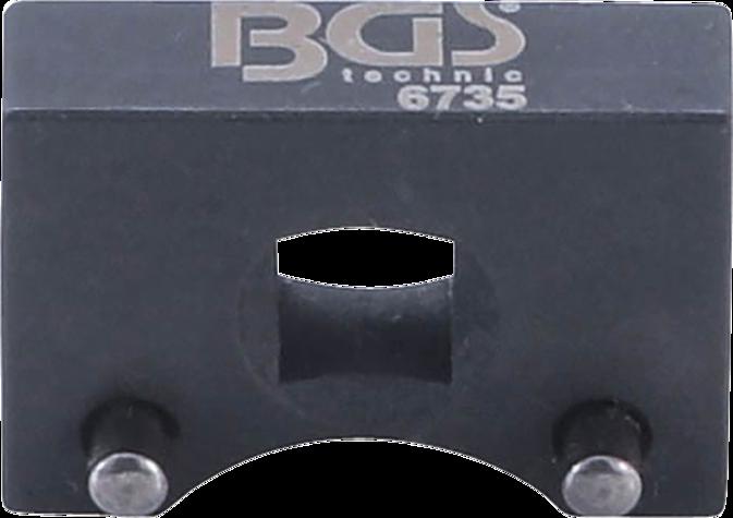 Přípravek - klíč na napínací kladky VW a AUDI, motory 3.7 a 4.2 litru V8 - BGS 6735