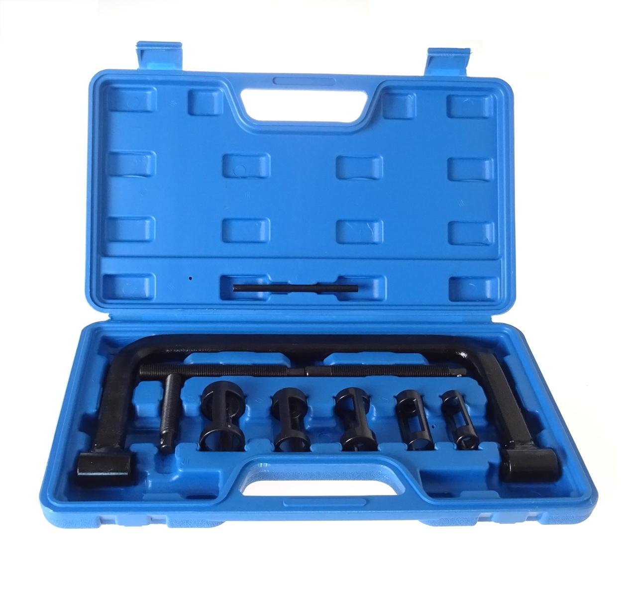 Přípravek na stlačení ventilových pružin, adaptéry 16 - 30 mm - QUATROS QS40101