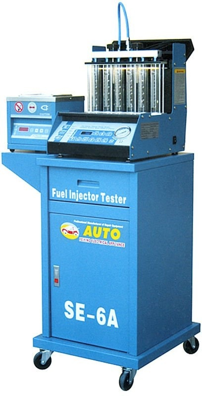 Přístroj - diagnostika a čištění vstřikovačů zážehových motorů SE-6A
