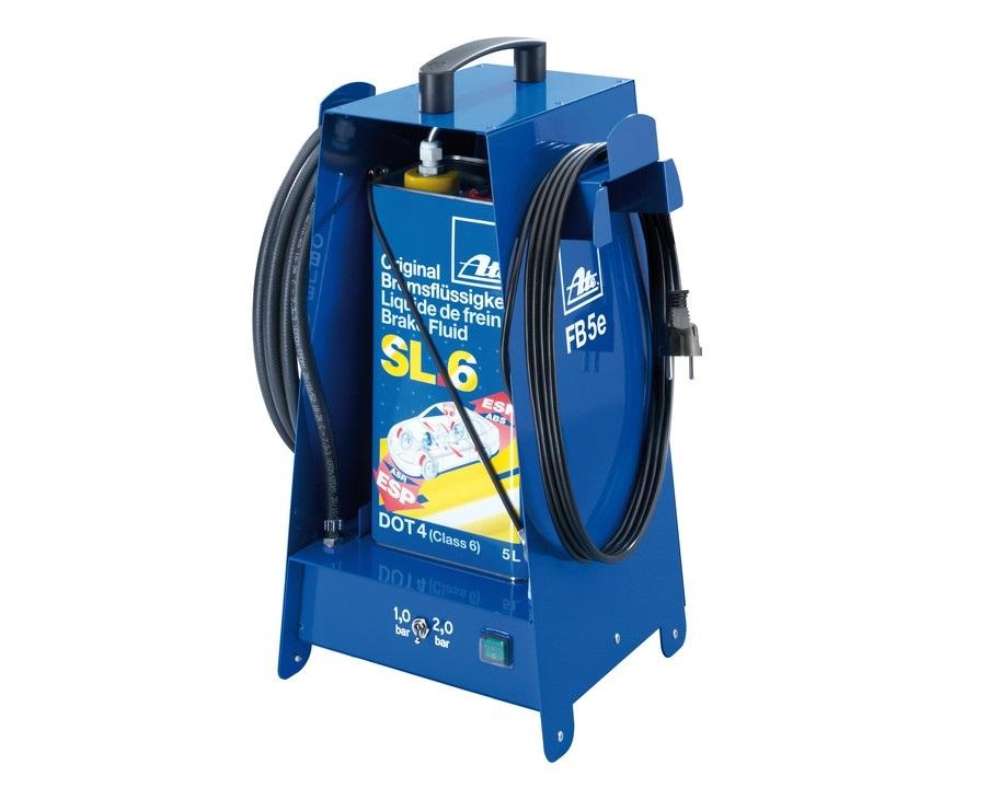 Přístroj na odvzdušnění brzd a plnění brzdové kapaliny, 5 litrů, elektrický - ATE FB 5E