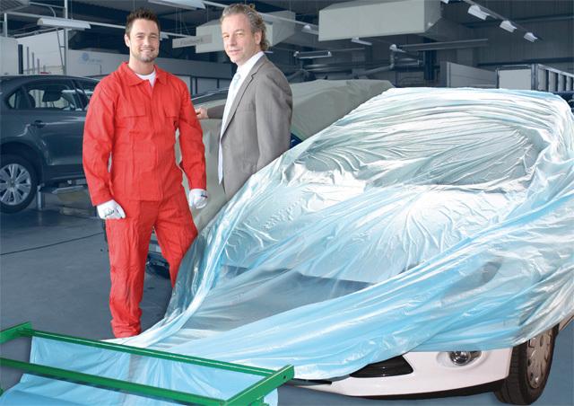 Prodyšná, paropropustná maskovací folie - povlak na auto COLAD, 6 x 100 m, 12 mikronů