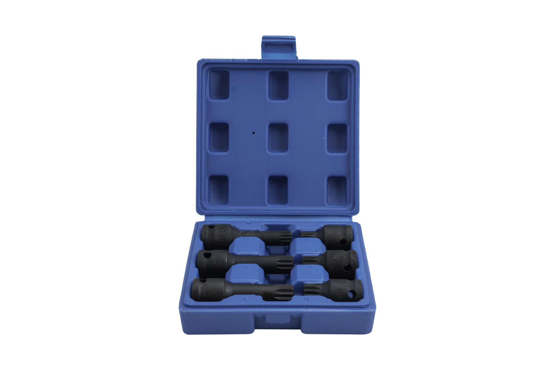 "Rázové hlavice 1/2"" XZN (Spline) M14-M18 pro VW - QUATROS QS50385"