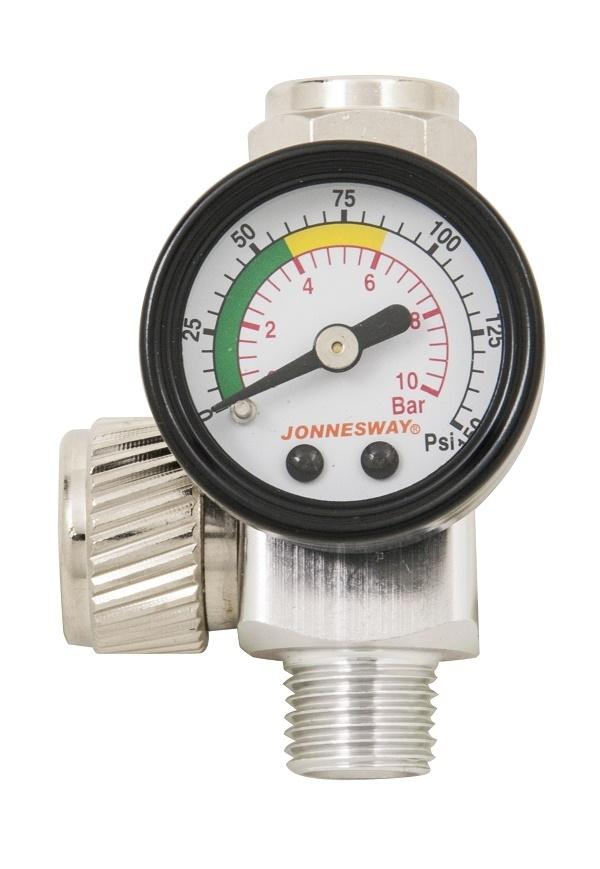 "Regulátor tlaku 1/4"", 0 - 10 bar - JONNESWAY ACC-609"